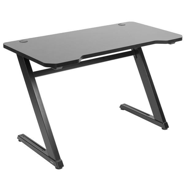 "DESK-GM1ZB<br><br>Z-Shaped 47"" Gaming Computer Desk"