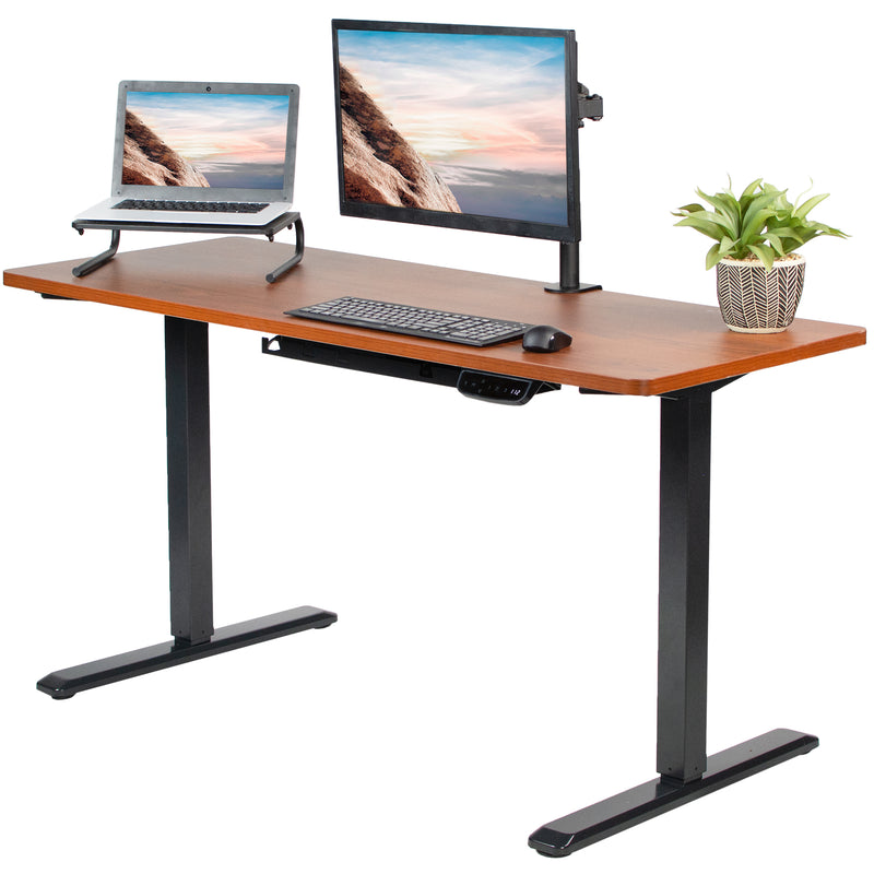 "60"" x 24"" Electric Desk height adjustable desk"