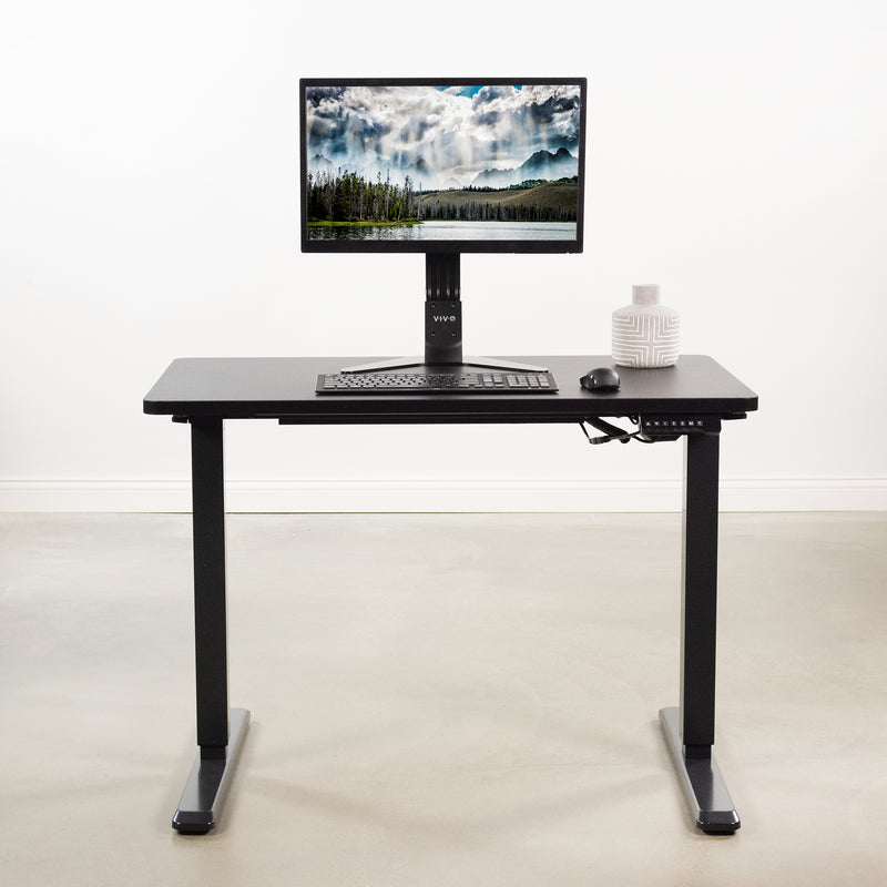 "DESK-TOP43B <br><br>Black 43"" x 24"" Table Top"
