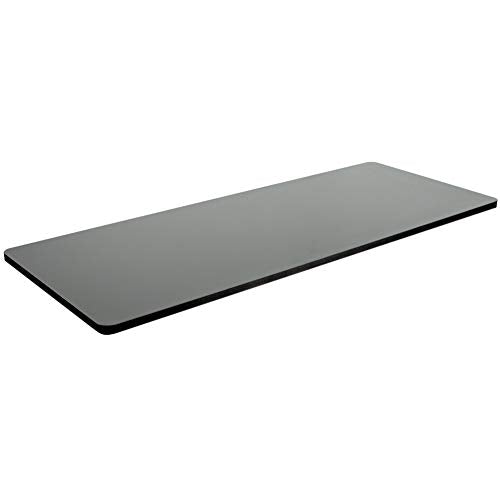 "DESK-TOP60B <br><br>Black 60"" x 24"" Table Top"