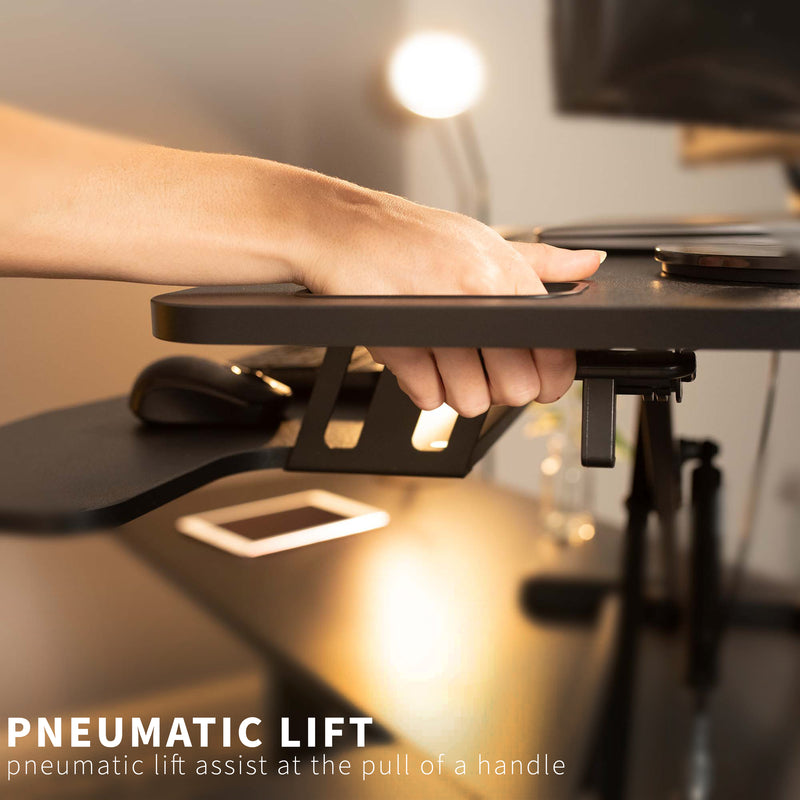 "DESK-V000KL<br><br>Black 38"" Desk Riser"
