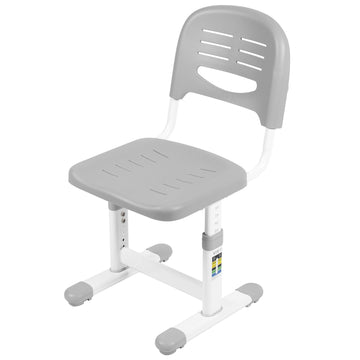 DESK-V201G-CH<br><br>Gray Kids' Height Adjustable Ergonomic Chair