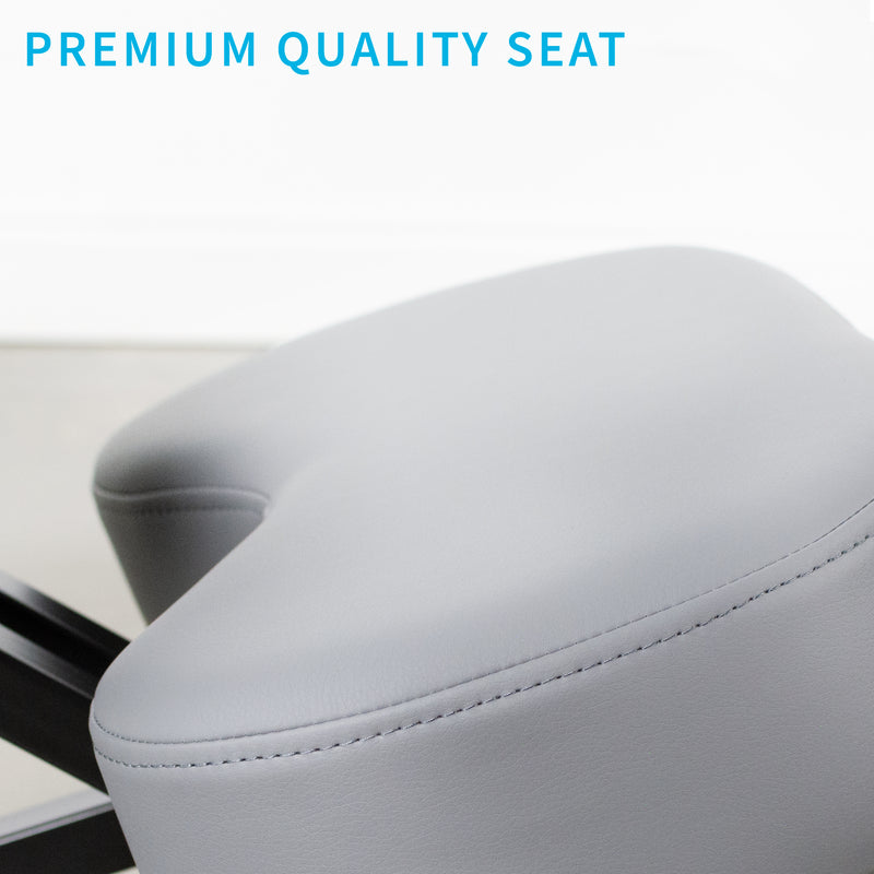 DN-CH-K01G<br><br>Gray Adjustable Ergonomic Kneeling Chair