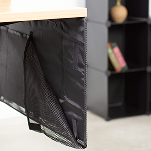 DESK-SKIRT-60 <br><br>Black 60