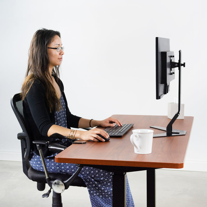 MOUNT-ARM01 <br><br>Clamp-on Rotating Arm Rest for Office Desks