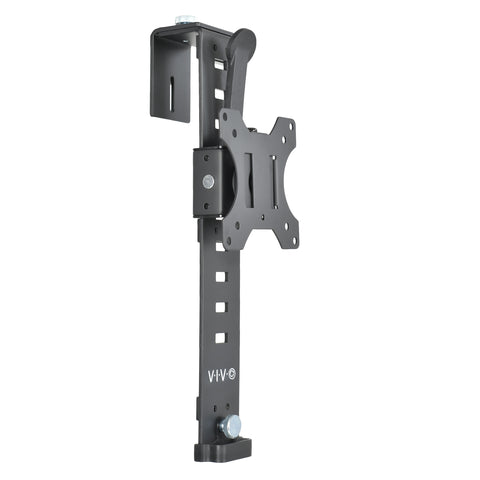 "MOUNT-CUB1 <br><br><span style=font-weight:normal;>Black Office Cubicle Bracket VESA Monitor Mount Stand Hanger Attachment Adjustable Clamp for 17"" to 32"" Screen </span>"