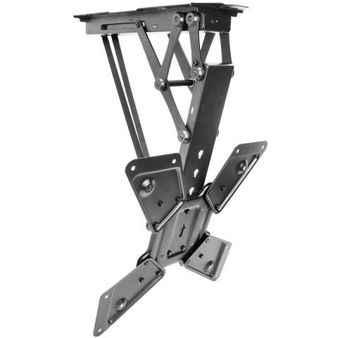 "MOUNT-E-FD55 <br><br><span style=font-weight:normal;>VIVO Electric Motorized Flip Down Pitched Roof Ceiling TV Mount for 23"" to 55"" Screen</span>"