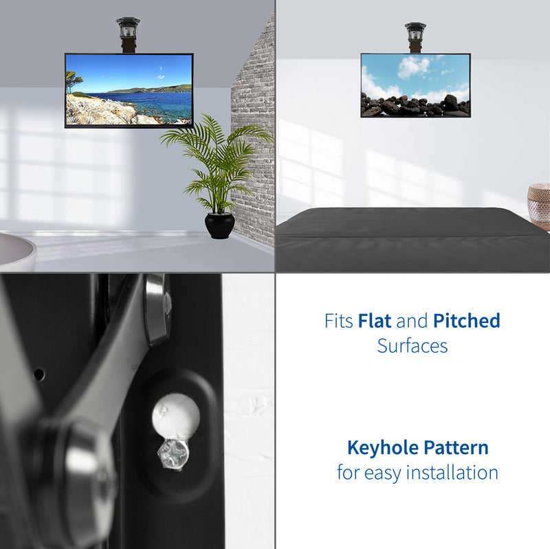 Electric Flip Down tv Ceiling Mount