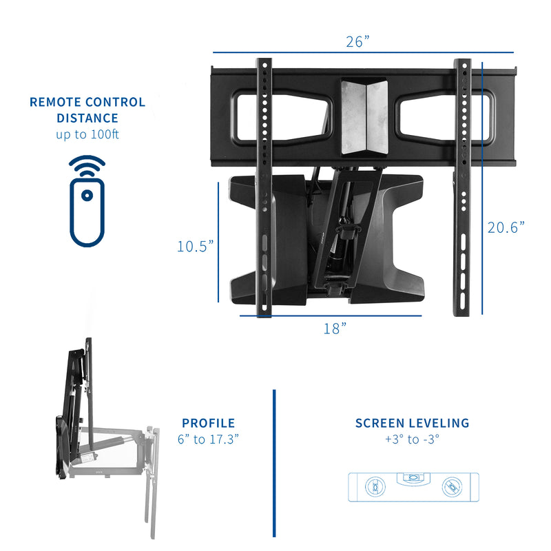 Electric TV Wall Mount