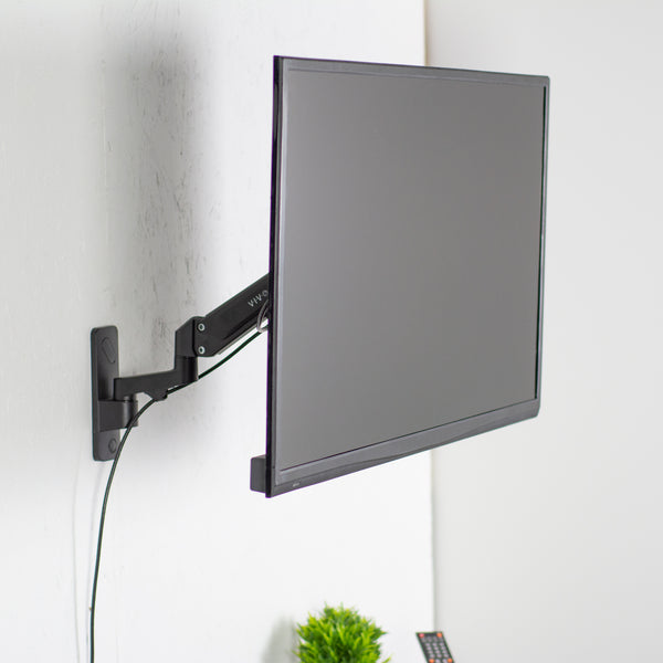 MOUNT-G400B<br><br><span style=font-weight:normal;>VIVO Premium Aluminum Single TV Wall Mount Adjustable Arm for Screens up to 55"