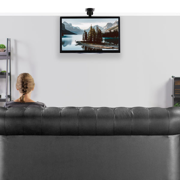 "Pitched Roof Ceiling Mounting for Flat TV & Monitors 17"" to 37"""