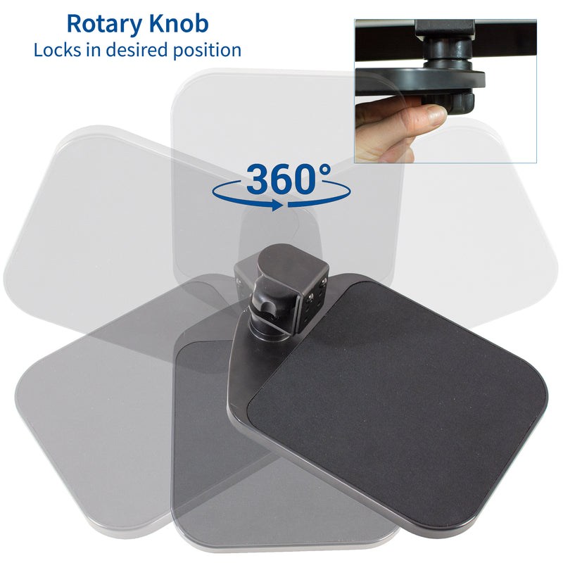 MOUNT-MS01A <br><br>Clamp-on Mouse Pad