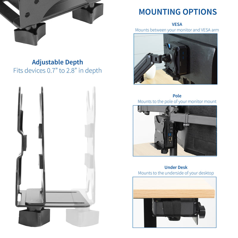 MOUNT-PC05C <br><br>Multifunctional Thin Client PC Mount
