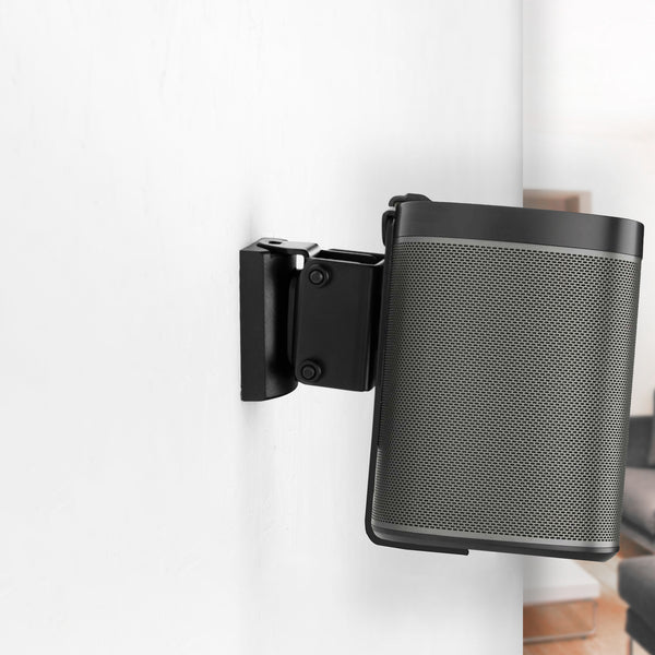 MOUNT-PLAY1B <br><br>Black Dual Wall Mount Designed for Sonos One, SL, and Play:1