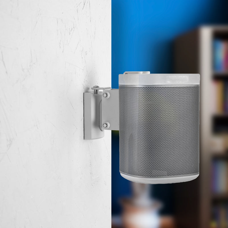 MOUNT-PLAY1W <br><br>White Dual Wall Mount Designed for Sonos One, One SL, Play:1