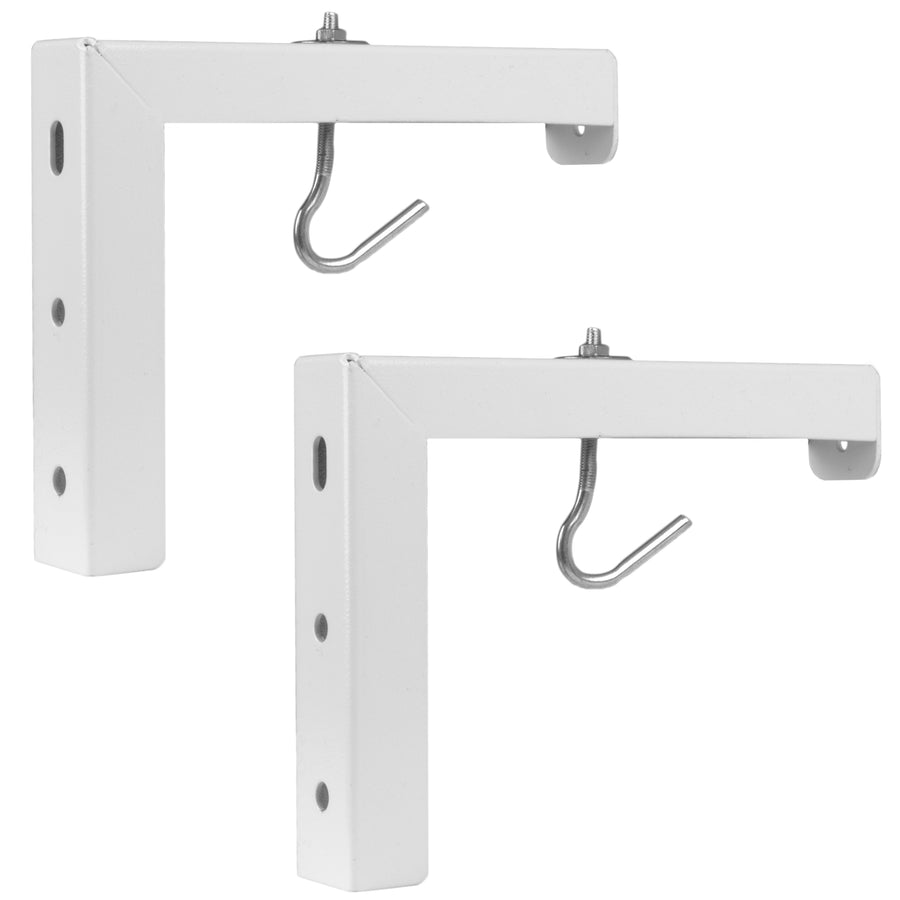Adjustable L-Bracket Mount Plate Kit for Projector Screens