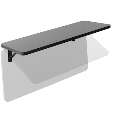 "MOUNT-SF1FB <br><br>Black Wall Mounted 43"" Folding Workbench"