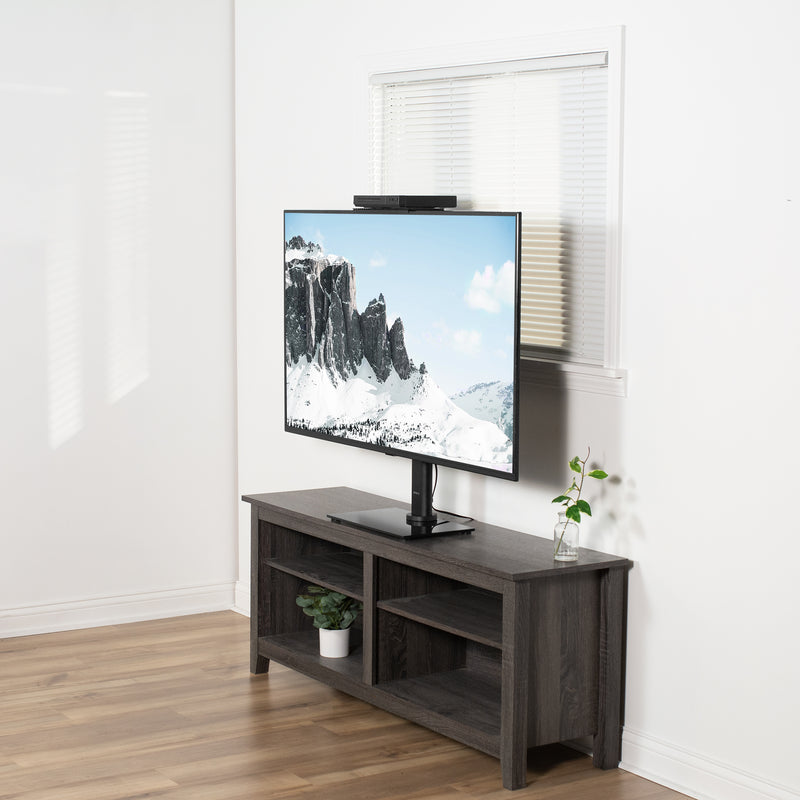 MOUNT-SFTV1 <br><br>Black Top Shelf TV Mount
