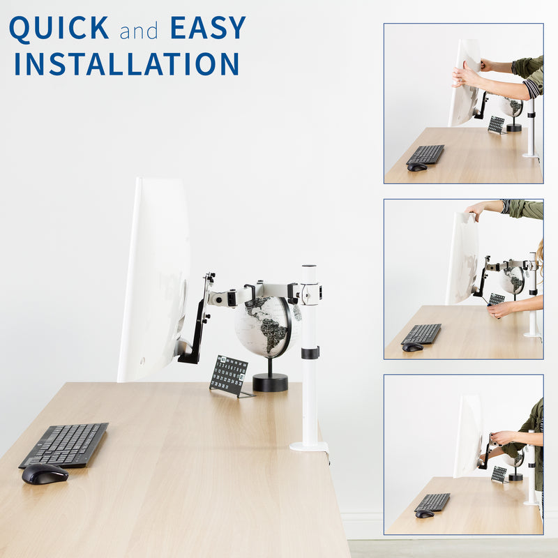 VESA Adapter for Compatible Samsung Monitors quick and easy installation