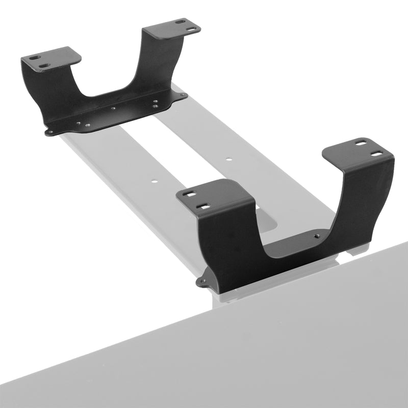 MOUNT-SPACER01 <br><br>Dual Spacer Brackets for Under Desk Keyboard Tray