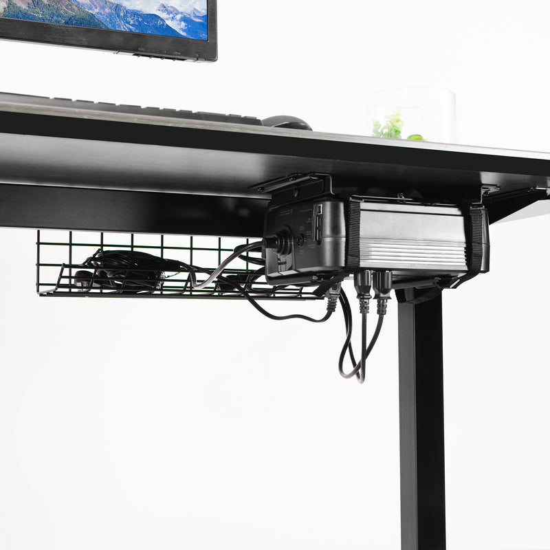 Universal Under Desk and Wall UPS Mount