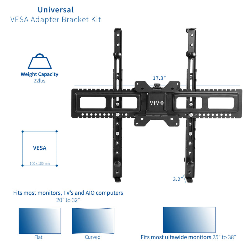 MOUNT-UVM01 <br><br>Universal VESA Adapter Bracket Kit
