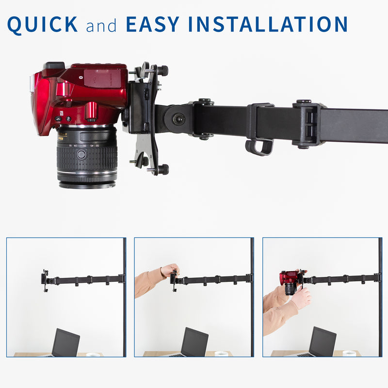 Universal Camera VESA Adapter quick and easy installation