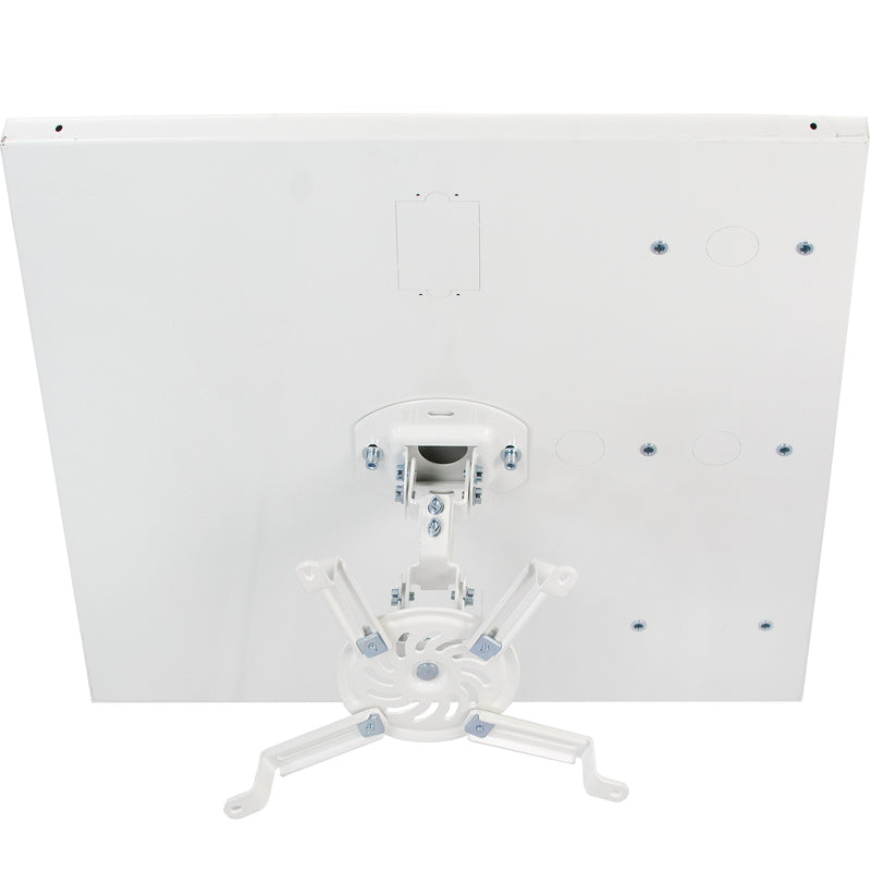 MOUNT-VP07DP <br><br>White Universal Drop Ceiling Projector Mount