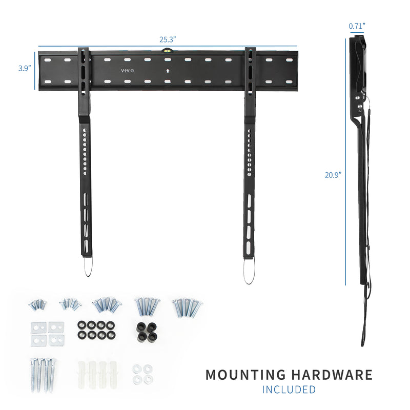 "MOUNT-VW080S<br><br>Ultra Slim TV Wall Mount for 43"" to 80"" TVs"