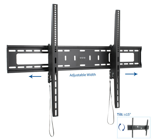 "MOUNT-VW100T <br><br><span style=font-weight:normal;>VIVO Extra Large Heavy Duty Flat Panel TV Wall Mount for Screens 60"" - 100""</span>"