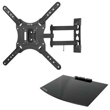 MOUNT-VWSF1 <br><br>TV Wall Mount and Entertainment Shelf