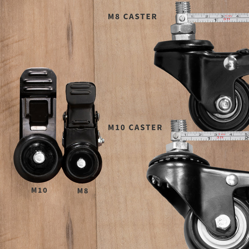 Caster Wheels on Tv stand