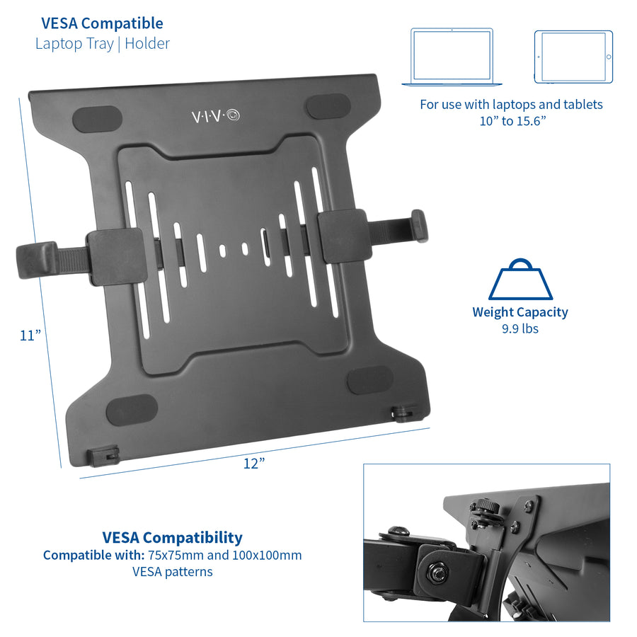 STAND-LAP3 <br><br>VESA Compatible Laptop Holder