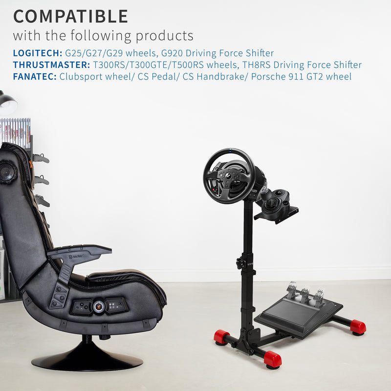 Racing Steering Wheel Stand compatible accessories