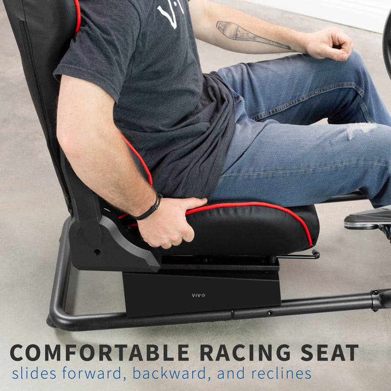 Racing Simulator Cockpit comfortable seat
