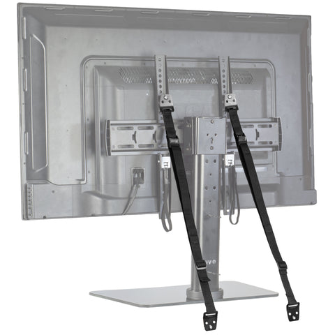 STAND-SK02  <br><br>  <span style=font-weight:normal;>Anti-Tip Heavy Duty Dual Cable Non Tipping Safety Strap Kit for Flat Screen and Furniture Mounting</span>