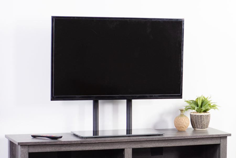 STAND-TV00H <br><br>Black Universal TV Table Top Stand for 32