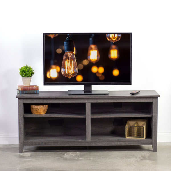 "STAND-TV00J <br><br><span style=font-weight:normal;> VIVO Universal Economic LCD Flat Screen TV Table Top Stand w/ Glass Base for 32"" to 47"" T.V. </span>"