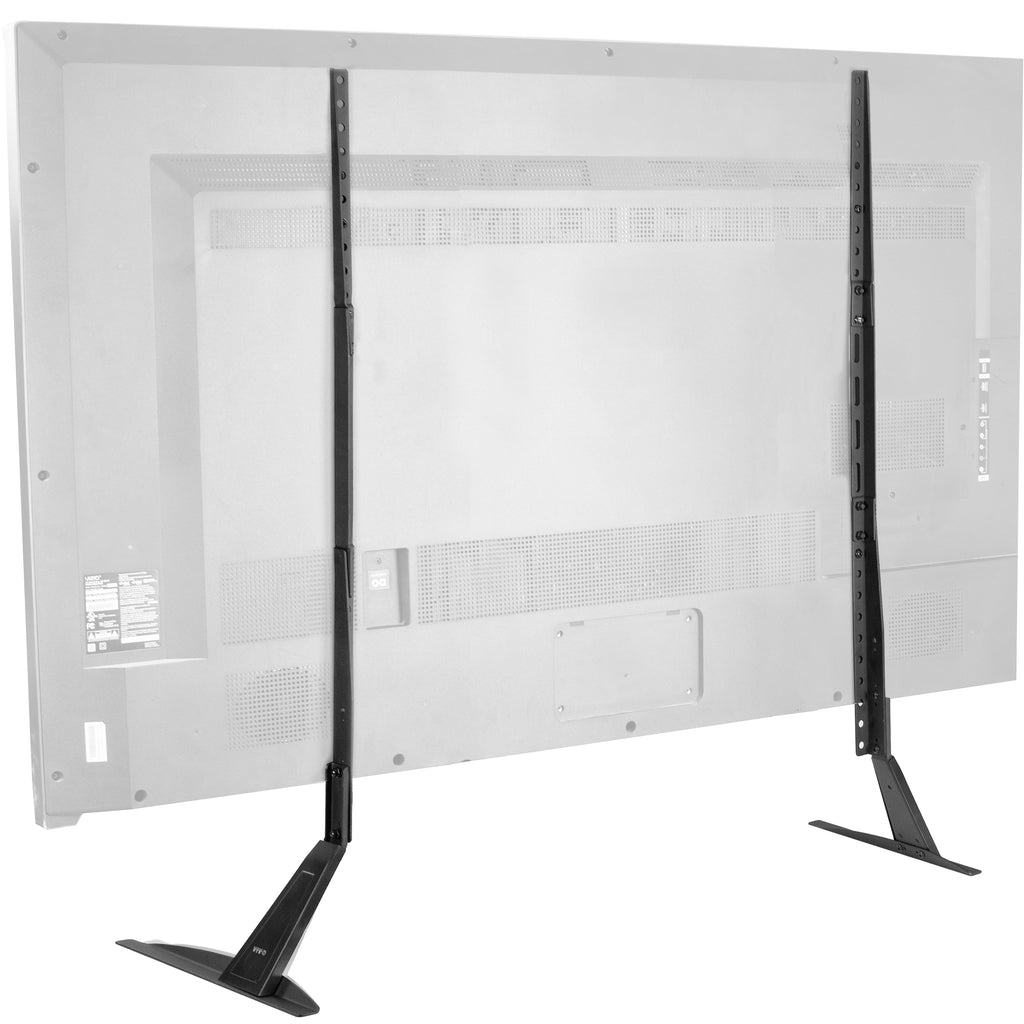 Stand Tv01t Tabletop Tv Stand For 27 To 85 Tvs Vivo Desk Solutions Screen Mounting And More