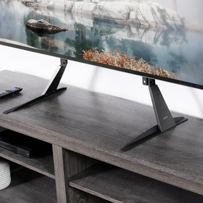 "STAND-TV01T <br><br>Tabletop TV Stand for 27"" to 85"" TVs"