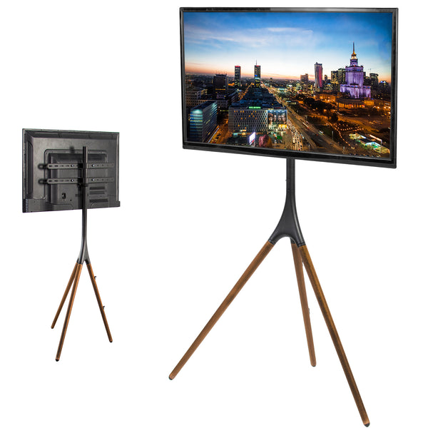 Black Easel Studio TV Stand