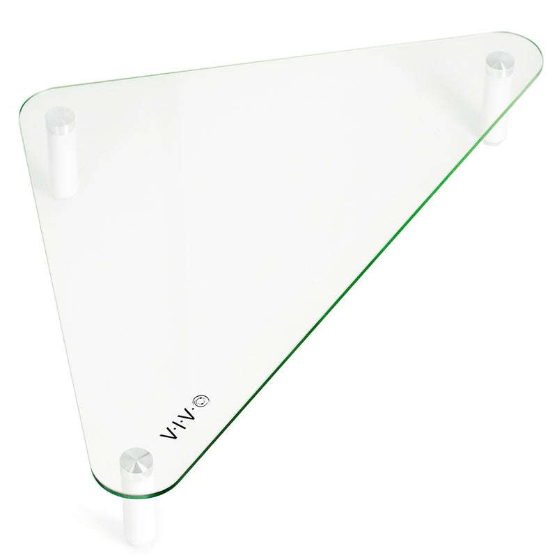 "20"" Triangle Glass Monitor Riser"