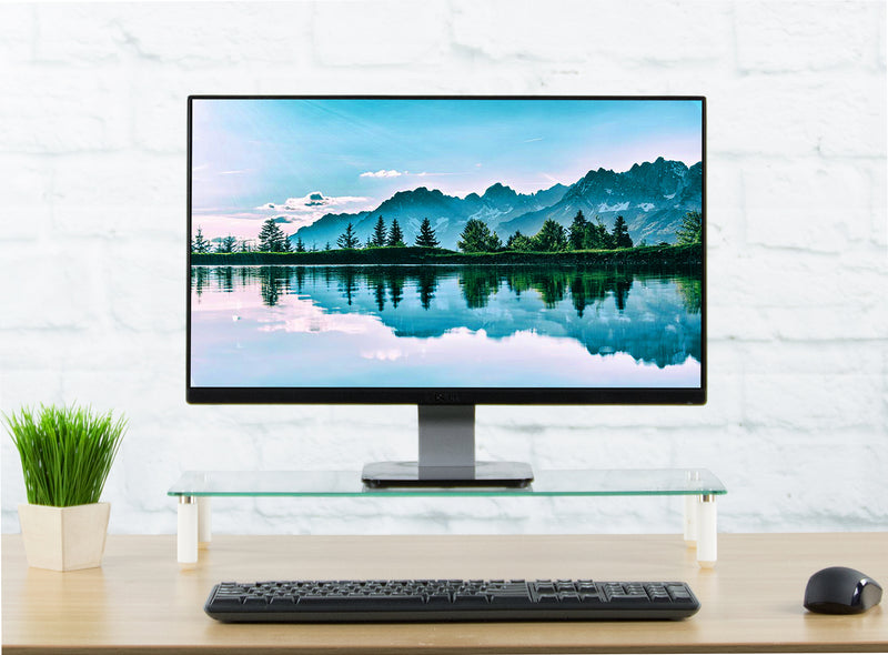 "STAND-V000R  <br><br>22"" Glass Monitor Riser"