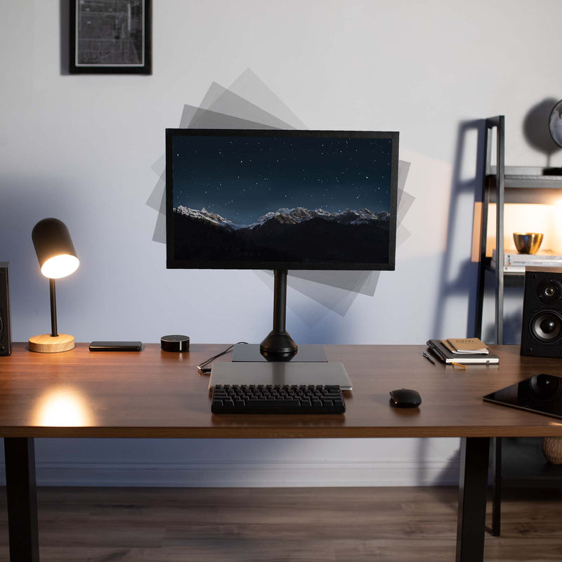 STAND-V001HG <br><br>Single Monitor Desk Stand