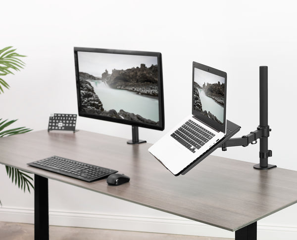 STAND-V001L <br><br>Laptop Tray and Desk Mount