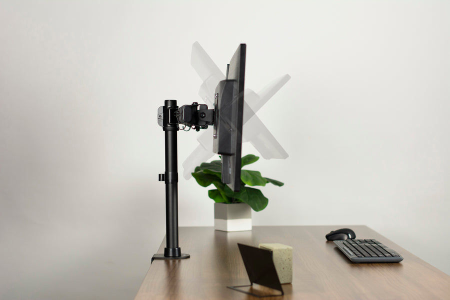 Stand V002e Dual Monitor Desk Mount Vivo Desk