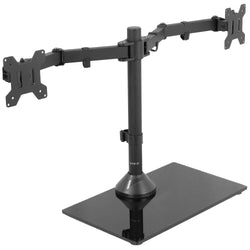 STAND-V002FG <br><br>Dual Monitor Desk Stand