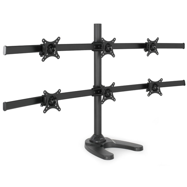 STAND-V006F <br><br>Hex Monitor Desk Stand