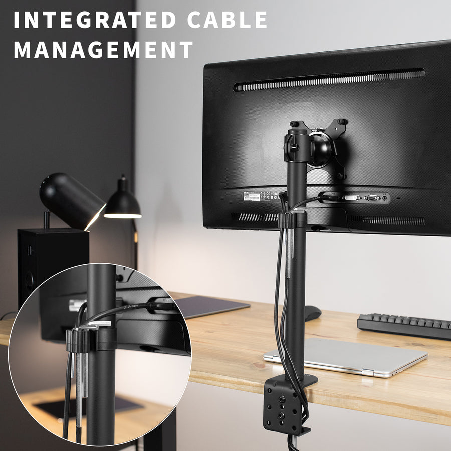 STAND-V101A<br><br>Single Monitor Desk Stand for 13