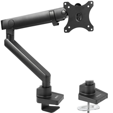 STAND-V101BB<br><br>Pneumatic Arm Single Monitor Desk Mount
